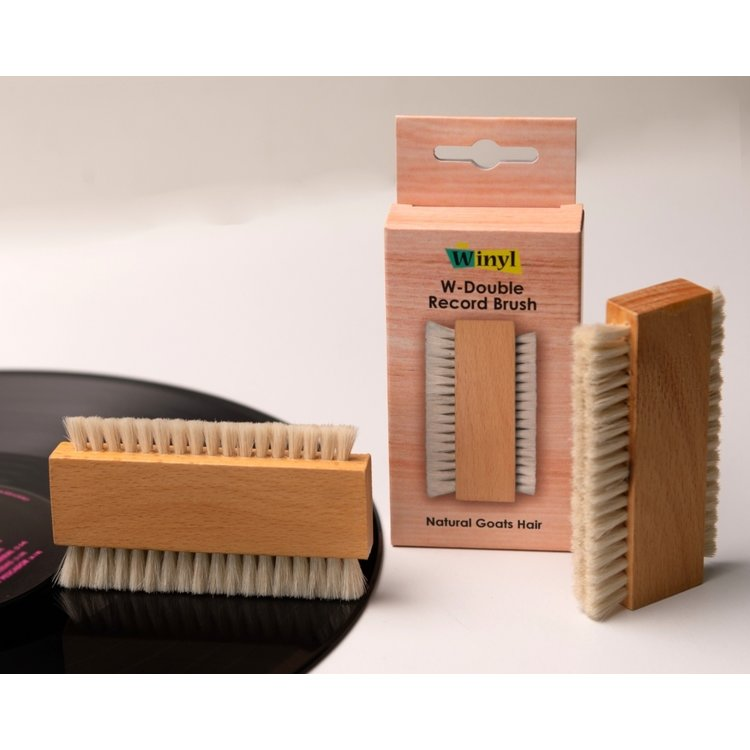 Winyl W-Double Brush (Geitenhaar)