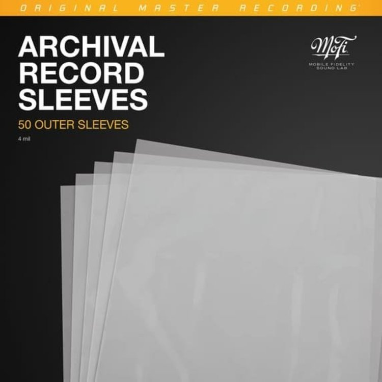 MFSL Archival Record Sleeves (50 pieces)