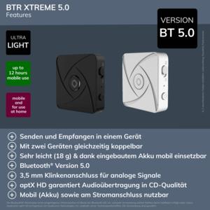 Oehlbach BTR Xtreme 5.0 Schwarz