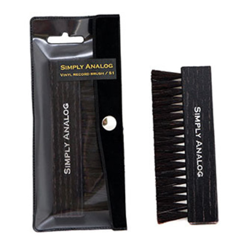 Simply Analog Vinyl record brush (Black)