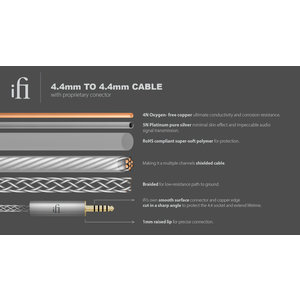 iFi audio 4.4mm to 4.4mm cable