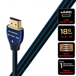AudioQuest BlueBerry HDMI (18 Gbps 4K-8K)