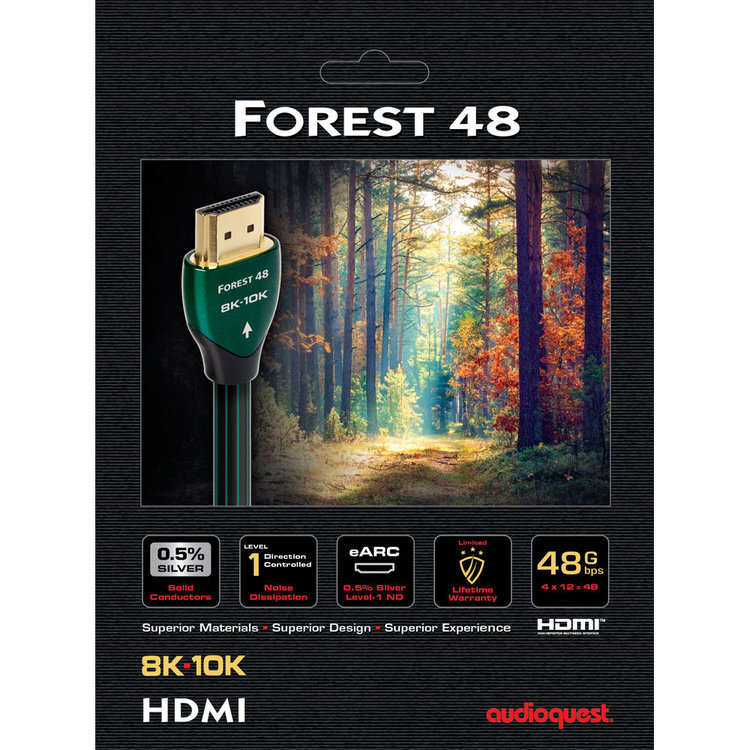 AudioQuest Forest 48 HDMI (48Gbps 8K-10K)