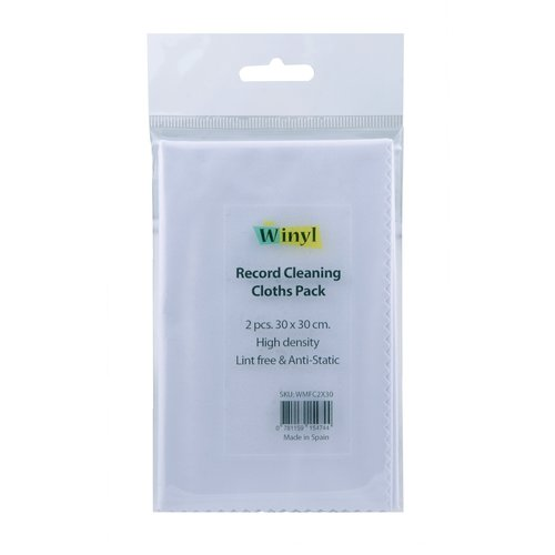 Winyl Record Cleaning Cloths Pack