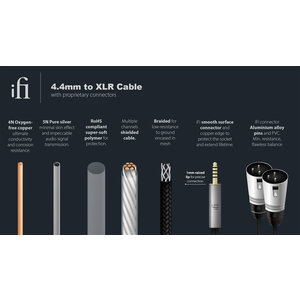 iFi audio 4.4mm to XLR cable