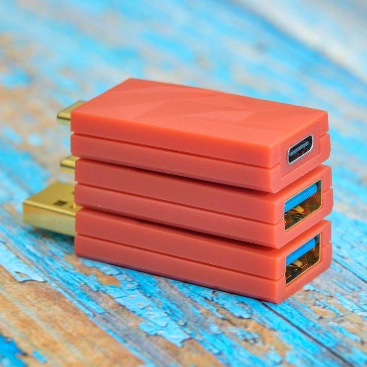 iFi audio iDefender+ USB-C naar USB-C