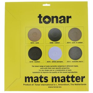Tonar Rubber turntable mat