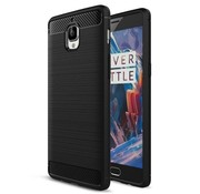 OPPRO Brushed Rugged Armor Black OnePlus 3 / 3T Case
