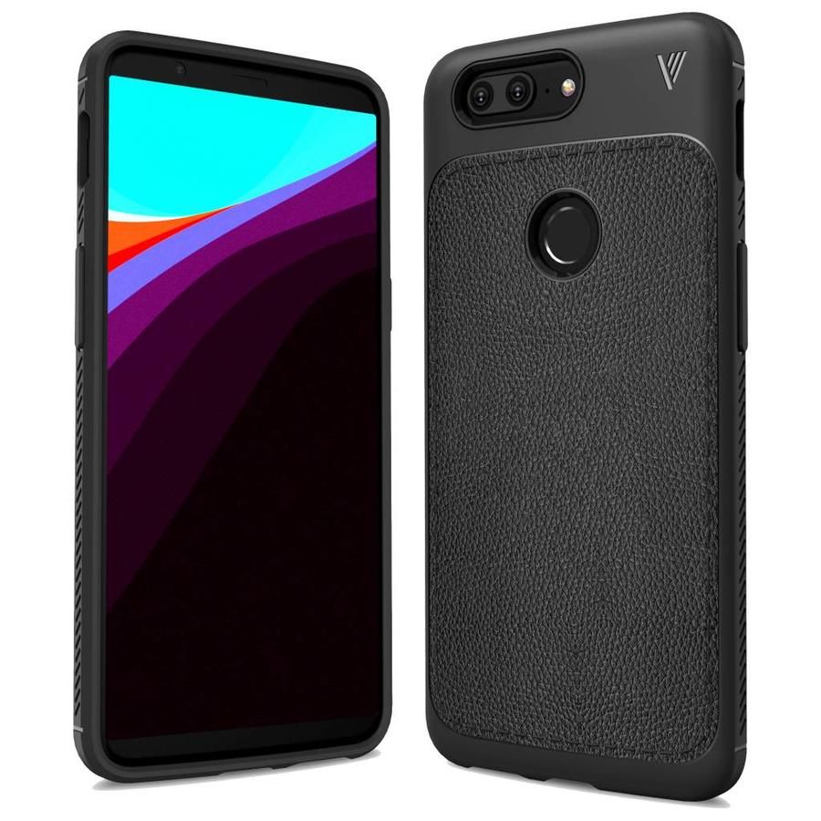 LeatherGrip Case Black OnePlus 5T