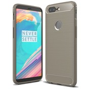 OPPRO Carbon Design Case Grau OnePlus 5T