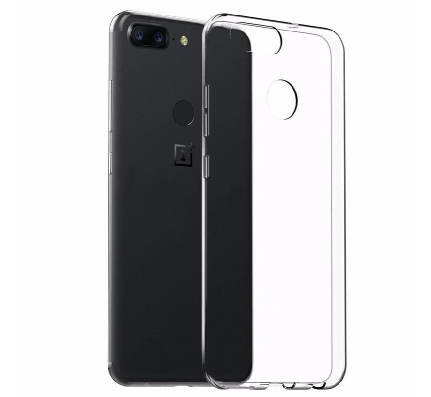 TPU Hoesje Transparant OnePlus 5T