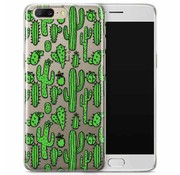 OPPRO Printserie Cactus Hoesje OnePlus 5