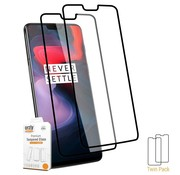 Orzly 9H Pro-Fit Glass Screen Protector 2-pack OnePlus 6