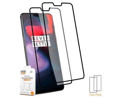 OPPRO Hybrid Bumper Hoesje Zwart OnePlus 6