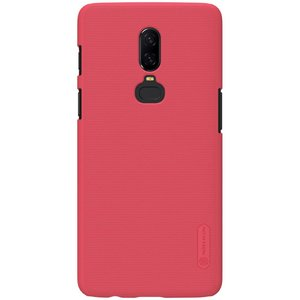 Nillkin Frosted Shield Red OnePlus 6