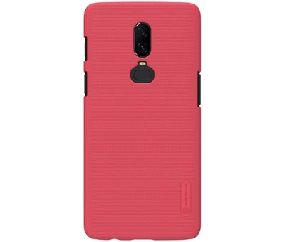 Nillkin Frosted Shield Rood OnePlus 6