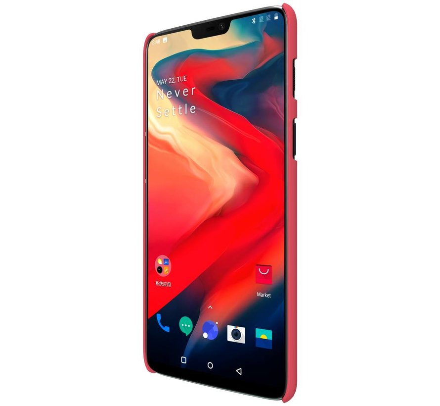 Frosted Shield Rood OnePlus 6