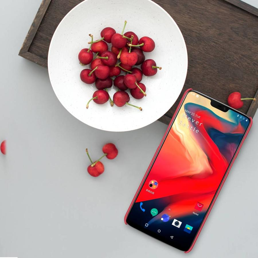 Frosted Shield Red OnePlus 6