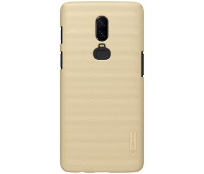 Nillkin Frosted Shield Gold OnePlus 6