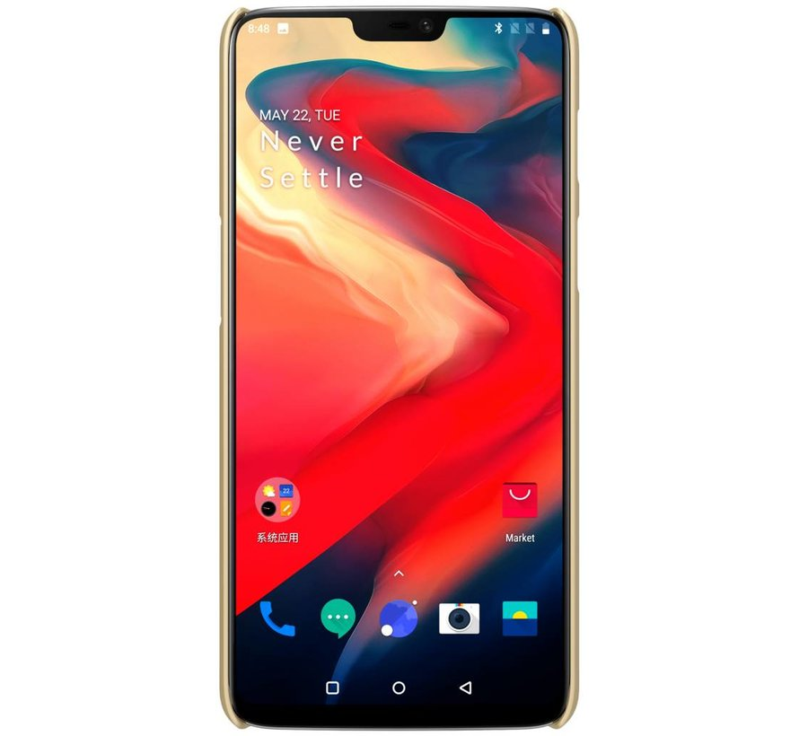Frosted Shield Gold OnePlus 6