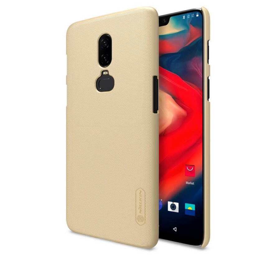 Frosted Shield Goud OnePlus 6