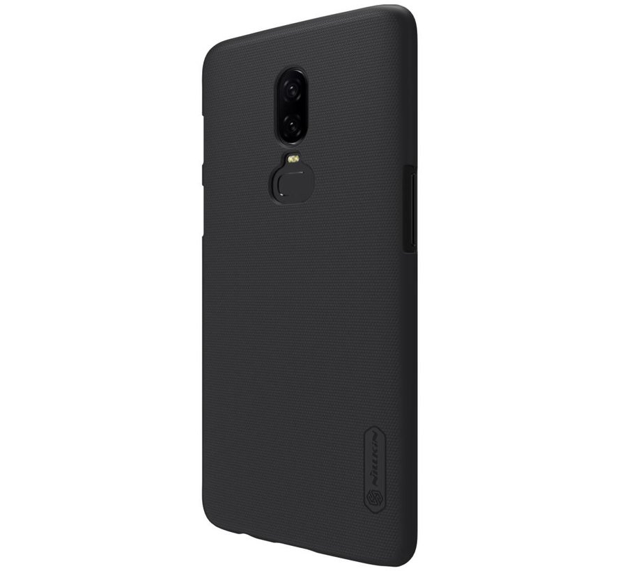 Frosted Shield Zwart OnePlus 6