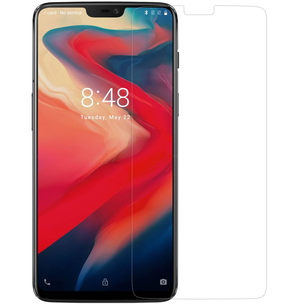 new style f4888 2a065 9H + Pro Glass Screen Protector OnePlus 6 - OnePlus-shop.nl