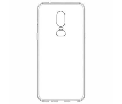 OPPRO TPU Hülle Transparent OnePlus 6