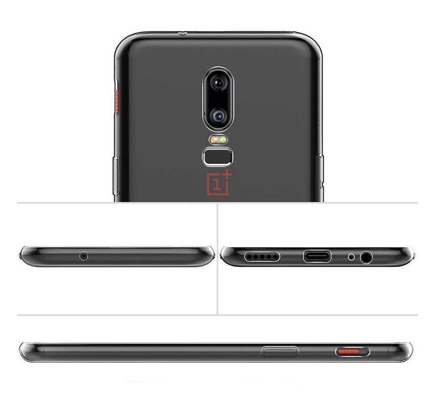 TPU Case Transparant OnePlus 6