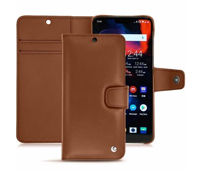 Noreve Tradition B Leather Case Brown OnePlus 6