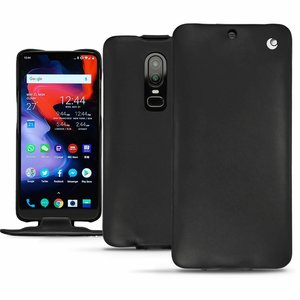 Noreve Tradition Leather Case Black OnePlus 6