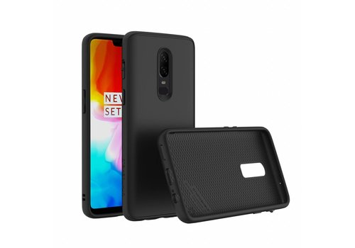 RhinoShield SolidSuit Case Zwart OnePlus 6