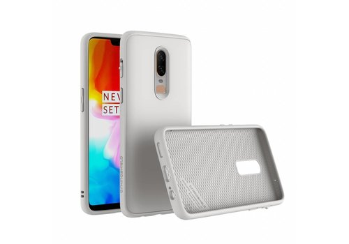 RhinoShield SolidSuit Case White OnePlus 6