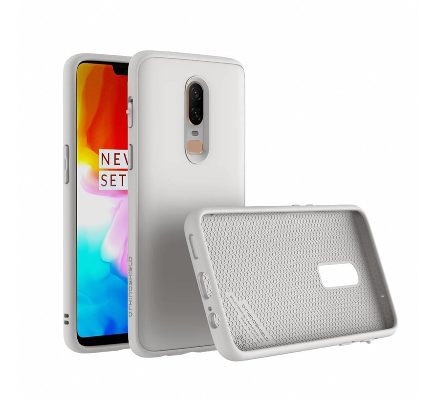 SolidSuit Case White OnePlus 6