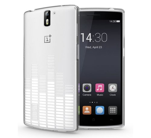 Tudia Melody Case Transparent OnePlus One