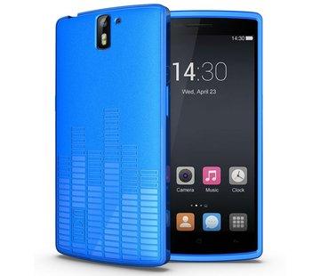 Tudia Melody Hoesje Blauw OnePlus One