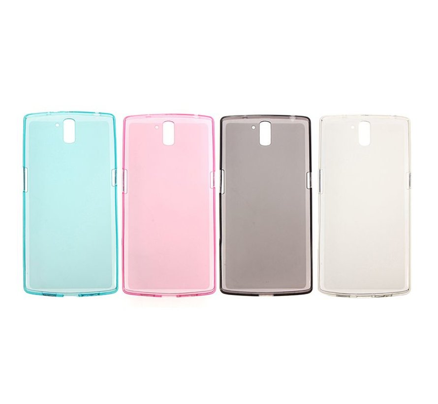 Silicone Cover White OnePlus One