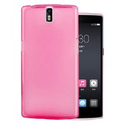 OPPRO Silicone Cover Pink OnePlus One