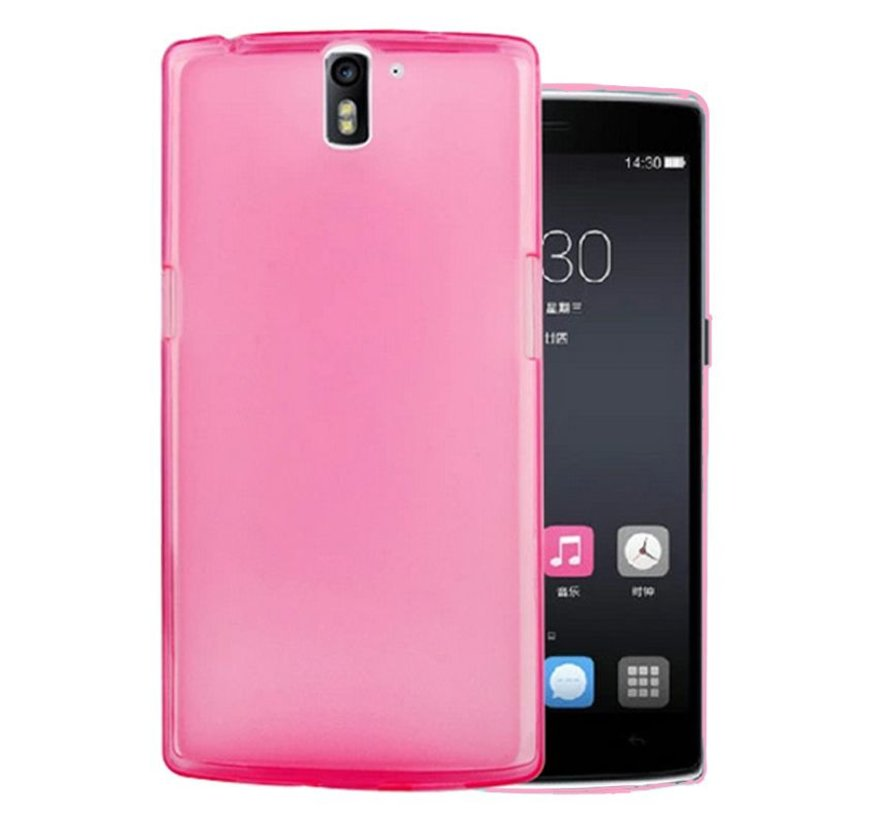 Silicone Hoesje Roze OnePlus One