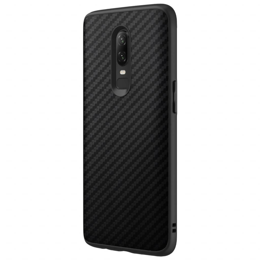 new product 59bae f67ed RhinoShield SolidSuit Case Carbon Black OnePlus 6