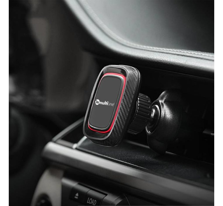 Power Magnetic Car Phone Holder Air Vent Grille