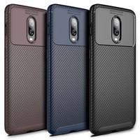 OnePlus 6T Case Carbon Structure Blue