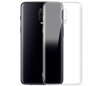 OPPRO OnePlus 6T Hoesje Transparant