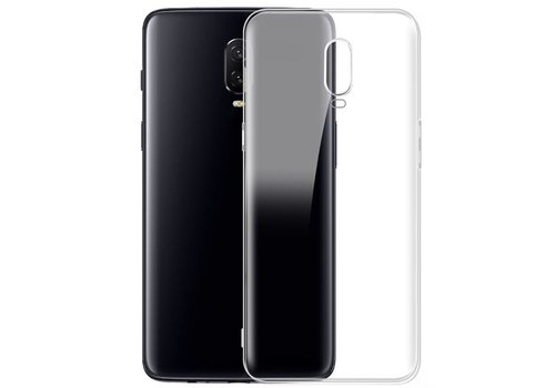 OPPRO OnePlus 6T Hoesje Transparant