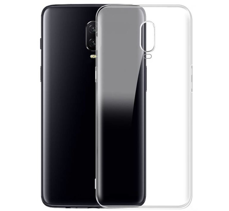 the best attitude 349a1 43dbb OPPRO OnePlus 6T Transparent Case - OnePlus-shop.nl