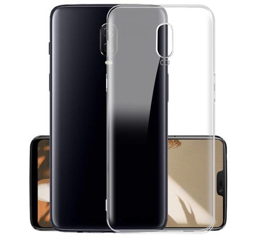 OnePlus 6T Hoesje Transparant