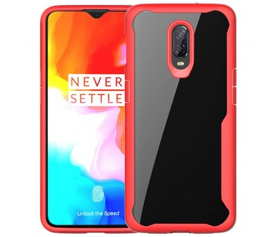OPPRO OnePlus 6T Case Fusion Red