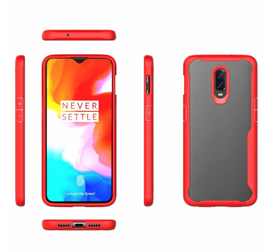 OnePlus 6T Fusion Red Hülle