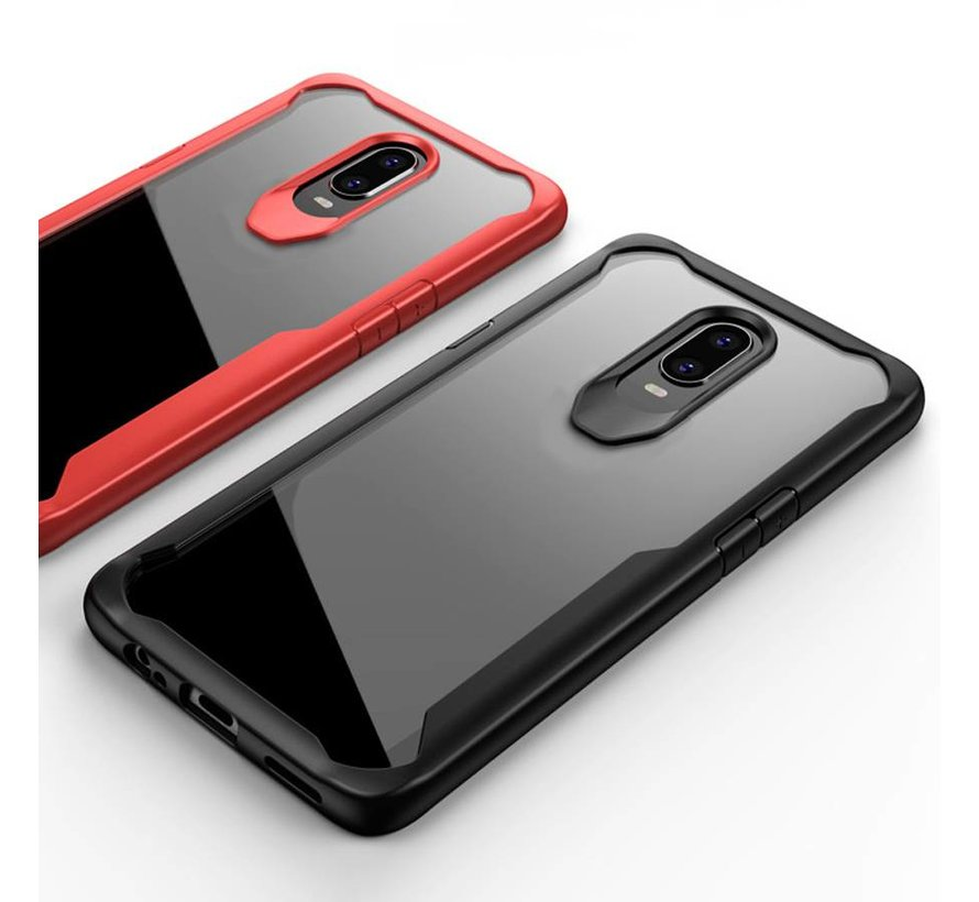 OnePlus 6T Hoesje Fusion Rood