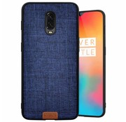 Noziroh OnePlus 6T Case Fabric Blue